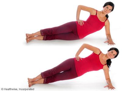 Oblique exercise 1